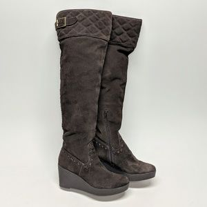 Juicy Couture Over-The-Knee Suede Boots sz 8